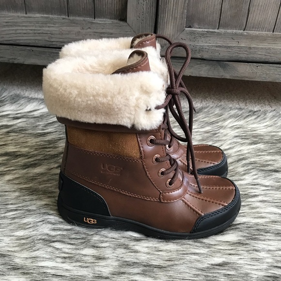 56dc7bc217b ✨New UGG Butte Waterproof lace up Worchester boots